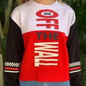 Vans Off The Wall Crew Neck Sweatshirt
